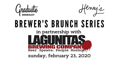 Henry's Brewer's Brunch with Lagunitas tickets