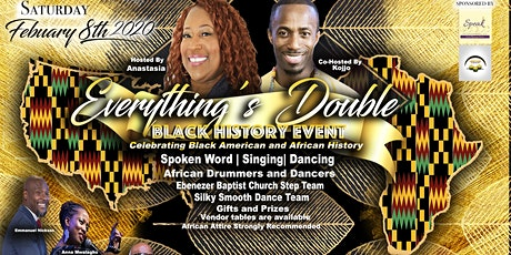 Everything's Double - 2020 Black American & Africa History Event!  tickets