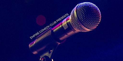 *CANCELED* FREE COMEDY SHOWCASE (Open Mic to follow) @ Empire Comedy Club