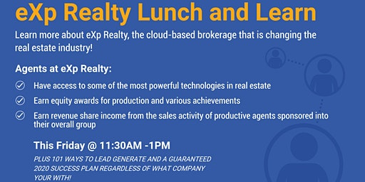 Lunch and Learn- How to Explode In Real Estate!