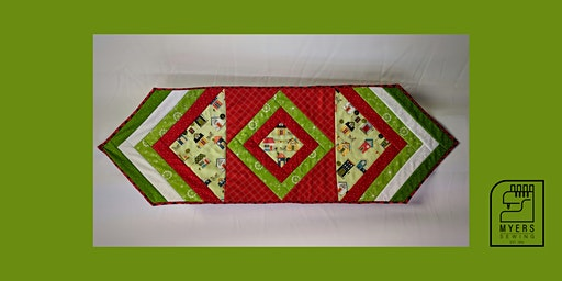 Quilt As You Go Table Runner or Placemats Class