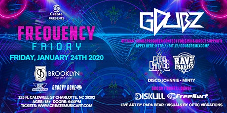 Create. 3 Year Anniversary • Ft. GDubz • Frequency Friday @ Brooklyn Lounge tickets