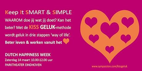KISS GELUK-workshop  tickets