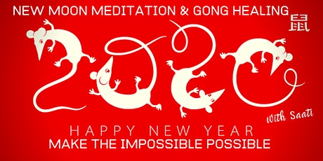 Chinese New Year's Eve | New Moon  Meditation & Sound Healing tickets