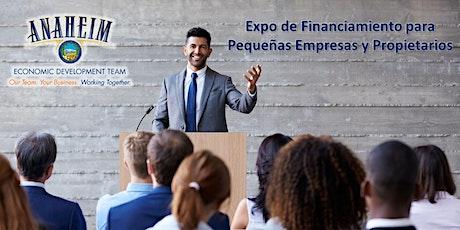 Expo de Financiamiento para Pequeñas Empresas y Propietarios tickets
