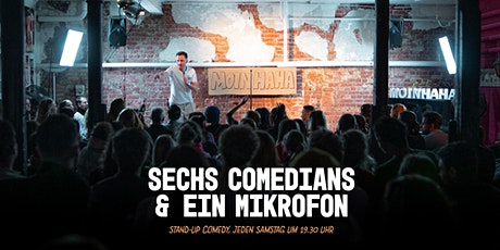 """6 Comedians & 1 Mikrofon"" - Stand Up Comedy Hamburg Tickets"