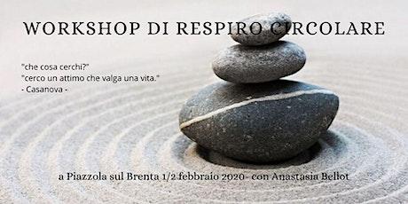 WORKSHOP DI RESPIRO CIRCOLARE biglietti
