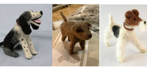 Needlefelt Dog - Just Footprints Chester