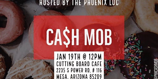 Cash Mob: The Cutting Board Cafe