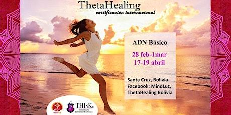 Curso ThetaHealing Santa Cruz, Bolivia, ADN Básico entradas
