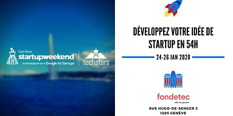 Techstars Startup Weekend Geneva 2020 tickets