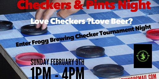 Checkers & Pints @ Frogg Brewing