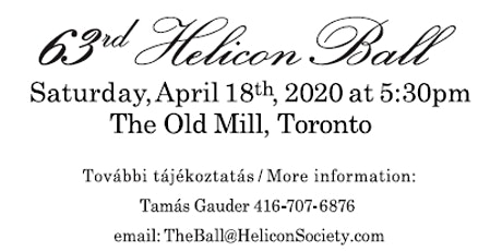 Hungarian Helicon Ball tickets