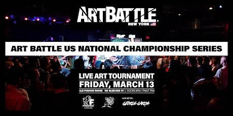 Art Battle New York State Championship! tickets