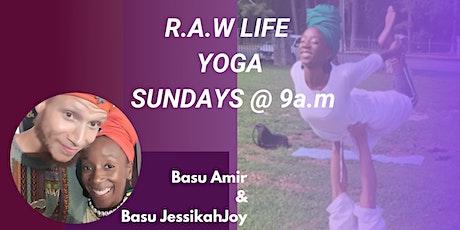 R.A.W LIFE YOGA Sundays tickets