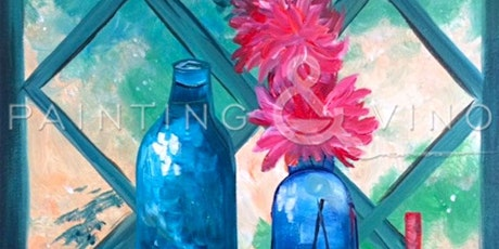 The Best Paint and Sip 'Chrysanthemum in Window' tickets
