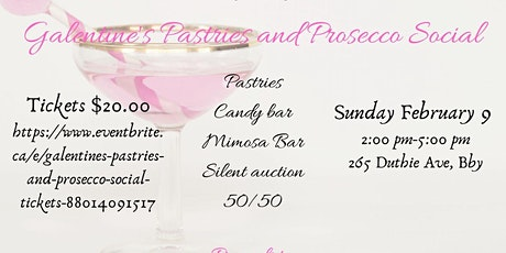 Galentine's Pastries and Prosecco Social tickets