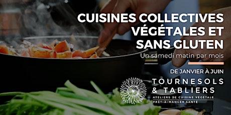Cuisine collective végétale et sans gluten tickets