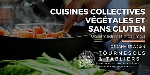 Cuisine collective végétale et sans gluten