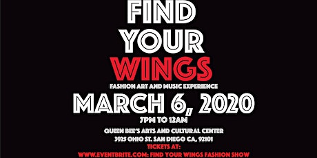 FIND YOUR WINGS Fashion, Art, and Music Experience tickets