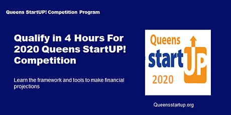 2020 Queens StartUP! Competition One-Day Qualifier - All about Finance tickets