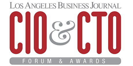 Los Angeles Business Journal CIO & CTO Awards 2020 tickets