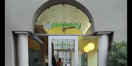 Ice Cream Club @ Pinkberry Ice cream tickets