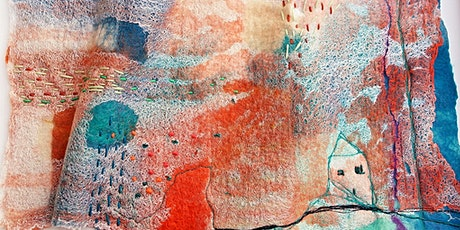 Creative Feltmaking Landscape or Abstract - Just Footprints Chester tickets