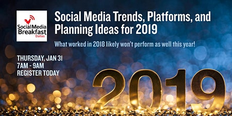Social Media Trends, Platforms, and Planning Ideas for 2020 tickets