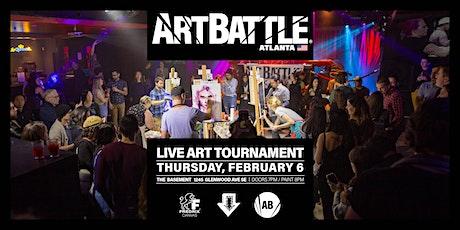 Art Battle Atlanta - February 6, 2020 tickets