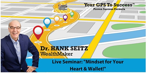 """Live Seminar In Dallas! """"Mindset For Your Heart & Wallet!"""""""