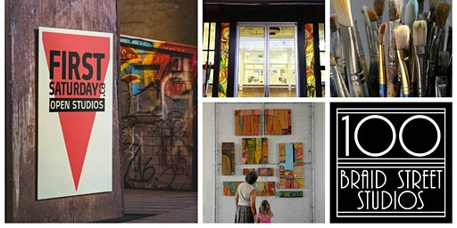 April - First Saturday Open Art Studios - Meet Our Artists in their Studios