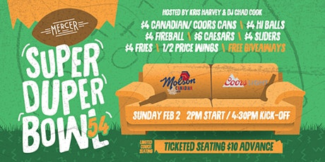 Super Duper Bowl 2020 Watch Party tickets