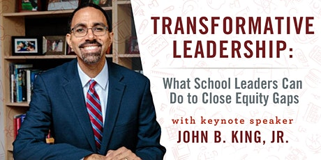 Transformative Leadership: What School Leaders Can Do to Close Equity Gaps tickets