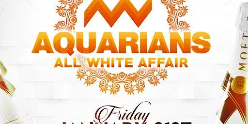 AQUARIANS ALL WHITE
