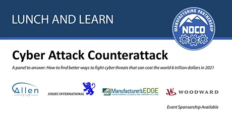Lunch & Learn - Cyber Attack Counterattack tickets