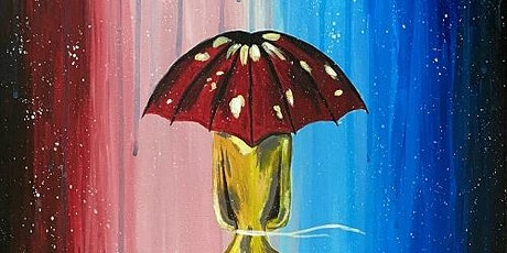 Best Paint Night 'Girl With Umbrella' Paint and Sip tickets