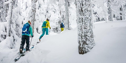 Telemark et Ski de rando alpine / Telemark and Alpine ski touring - mont plante