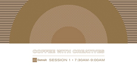 Coffee with Creatives tickets