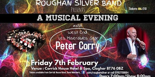 Musical Evening with Peter Corry & Roughan Silver Band