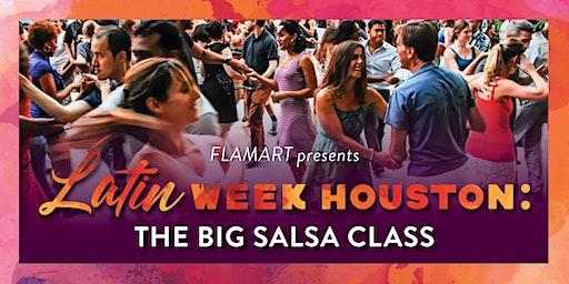 Latin Week Houston: The Big Salsa Class - Part 2