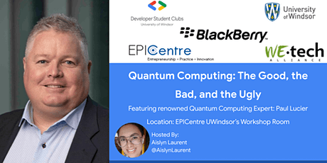 Quantum Computing: The Good, the Bad, and the Ugly tickets