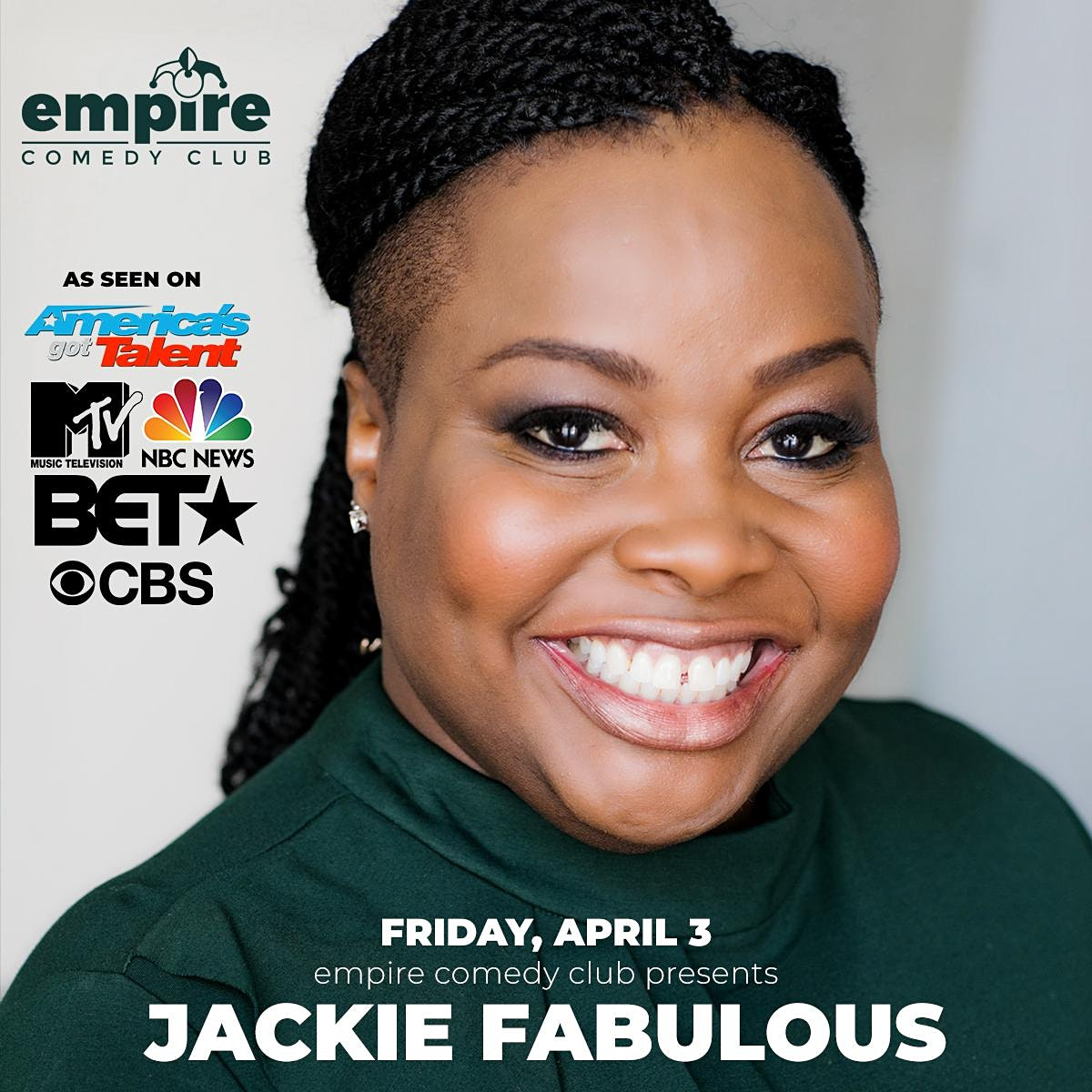 Jackie Fabulous (Americas Got Talent, FOX, BET, NBC, CBS, & more)