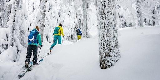 Ski de rando alpine / Alpine ski touring - mont alta