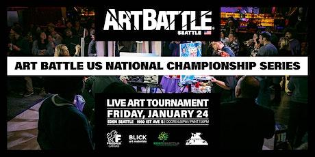 Art Battle Seattle City Finals! - January 24, 2020 tickets
