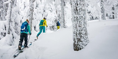 Telemark et Ski de rando alpine / Telemark and Alpine ski touring – mont plante
