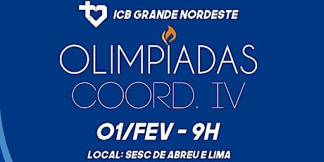 Olimpíadas ICB - COORD. IV ingressos