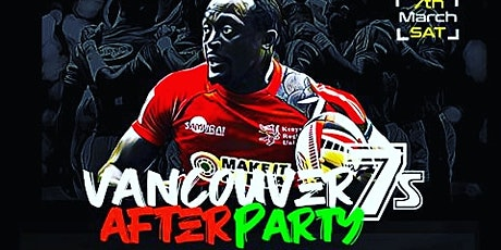 Vancouver Rugby 7s  Afterparty 2020 tickets