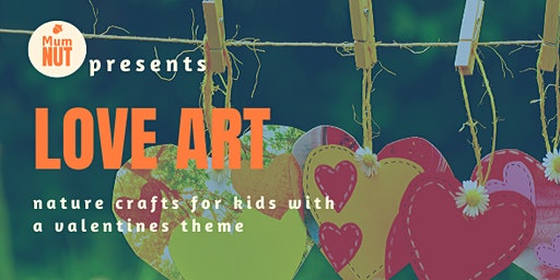 Love Art - Heart and Valentine themed eco-crafts for kids