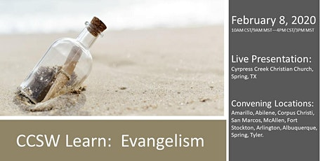 CCSW Learn: Evangelism tickets